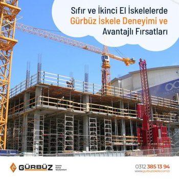 İskele Kiralama Ankara